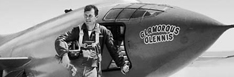 Feb. 13: Chuck Yeager